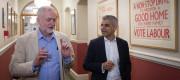 Jeremy Corbyn and Sadiq Khan
