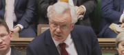 David Davis speaking to the House of Commons