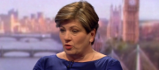 Emily Thornberry appearing on the Andrew Marr Show this morning