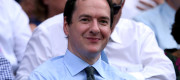 George Osborne at Wimbledon