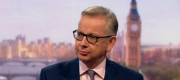 Michael Gove appearing on the Andrew Marr Show this morning