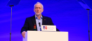 Jeremy Corbyn addresses the Royal College of Nursing annual conference