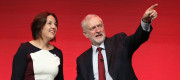 Jeremy Corbyn and Kezia Dugdale