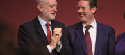 Jeremy Corbyn and Shadow Brexit Secretary Sir Keir Starmer