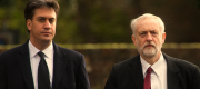 Corbyn and Miliband