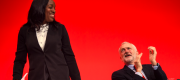 Kate Osamor and Jeremy Corbyn