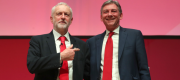 Richard Leonard and Jeremy Corbyn