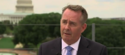 Liam Fox speaking in Washington