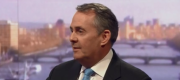 Liam Fox appearing on the Andrew Marr Show this morning