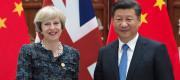 Theresa May and President Xi