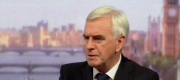 John McDonnell appearing on the Andrew Marr Show this morning