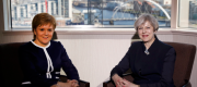 Theresa May and Nicola Sturgeon