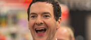 George Osborne laughing