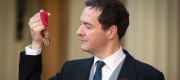 George Osborne received the Order of the Companions of Honour in November