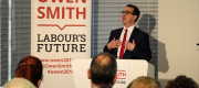 Owen Smith speaking in South Yorkshire