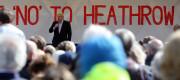 Boris Johnson voices his opposition to Heathrow expansion