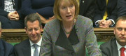 Harriet Harman speaking in the Commons last year