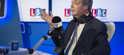 Nigel Farage on his LBC show
