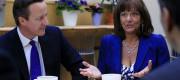 David Cameron and Ros Altmann