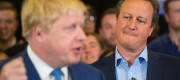 David Cameron and Boris Johnson fell out during the campaign to the leave the EU.