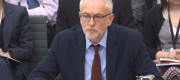 Jeremy Corbyn appearing in front of a parliamentary inquiry on anti-semitism