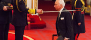 Sir Andrew Cook from Hope Valley is made a Knight Bachelor of the British Empire by the Prince of Wales at Buckingham Palace.