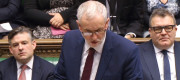 Jeremy Corbyn at Prime Minister's Questions earlier this week