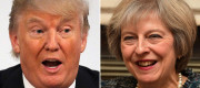 Theresa May will fly out to Washington next week to meet President Trump.