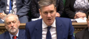 Shadow Brexit Secretary Keir Starmer speaking in the House of Commons