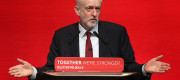 Jeremy Corbyn at the Scottish Labour conference