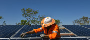 Solar panels will be fitted on 800,000 social homes to help low income households pay their utility bills.
