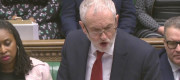 Jeremy Corbyn speaking at PMQs this week