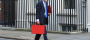 Chancellor Phillip Hammond on Downing Street