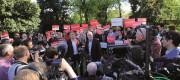 Steve Rotheram and Jeremy Corbyn