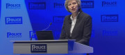 Theresa May at the Police Federation conference