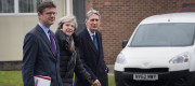 Greg Clark, Theresa May and Philip Hammond