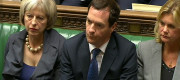 Theresa May, George Osborne, Justine Greening