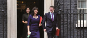 Ministers Victoria Atkins and Claire Perry and Business Secretary Greg Clark