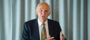 Sir Vince Cable during the election campaign