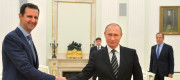 President Assad and Vladimir Putin