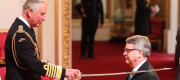 Prince Charles knights Lynton Crosby