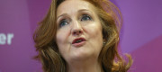Ukip policy chief Suzanne Evans launching the party's manifesto today