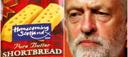 Jeremy Corbyn and shortbread