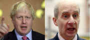 Boris Johnson and Lord Adonis
