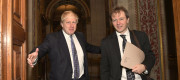Boris Johnson and Richard Zaghari-Ratcliffe