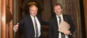 Boris Johnson and Richard Zaghari-Ratcliffe