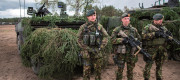 British Soldiers at NATO Training in Lithuania