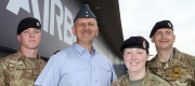 Soldiers and Airmen support Armed Forces Day at Airbus, Broughton