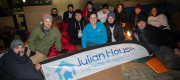 The Airbus team spends night under stars for homeless charity