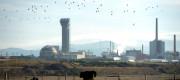 Sellafield nuclear plant in Seascale, Cumbria.